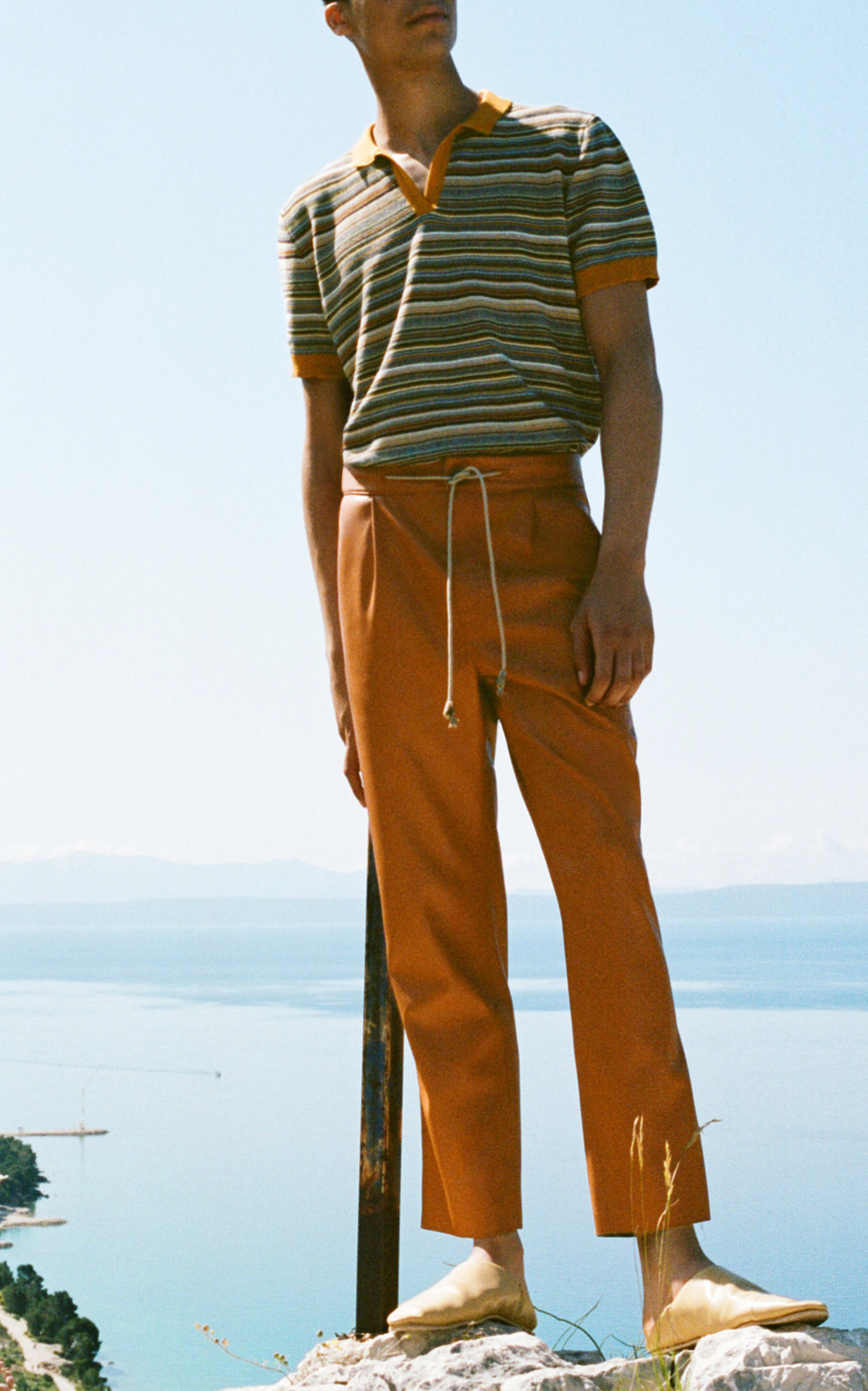 new release 100% satisfaction enjoy best price Vegan Leather Drawstring Suit Pants