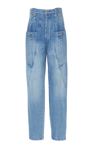 Isabel Marant Jeans Kerris High-Rise Tapered Jeans