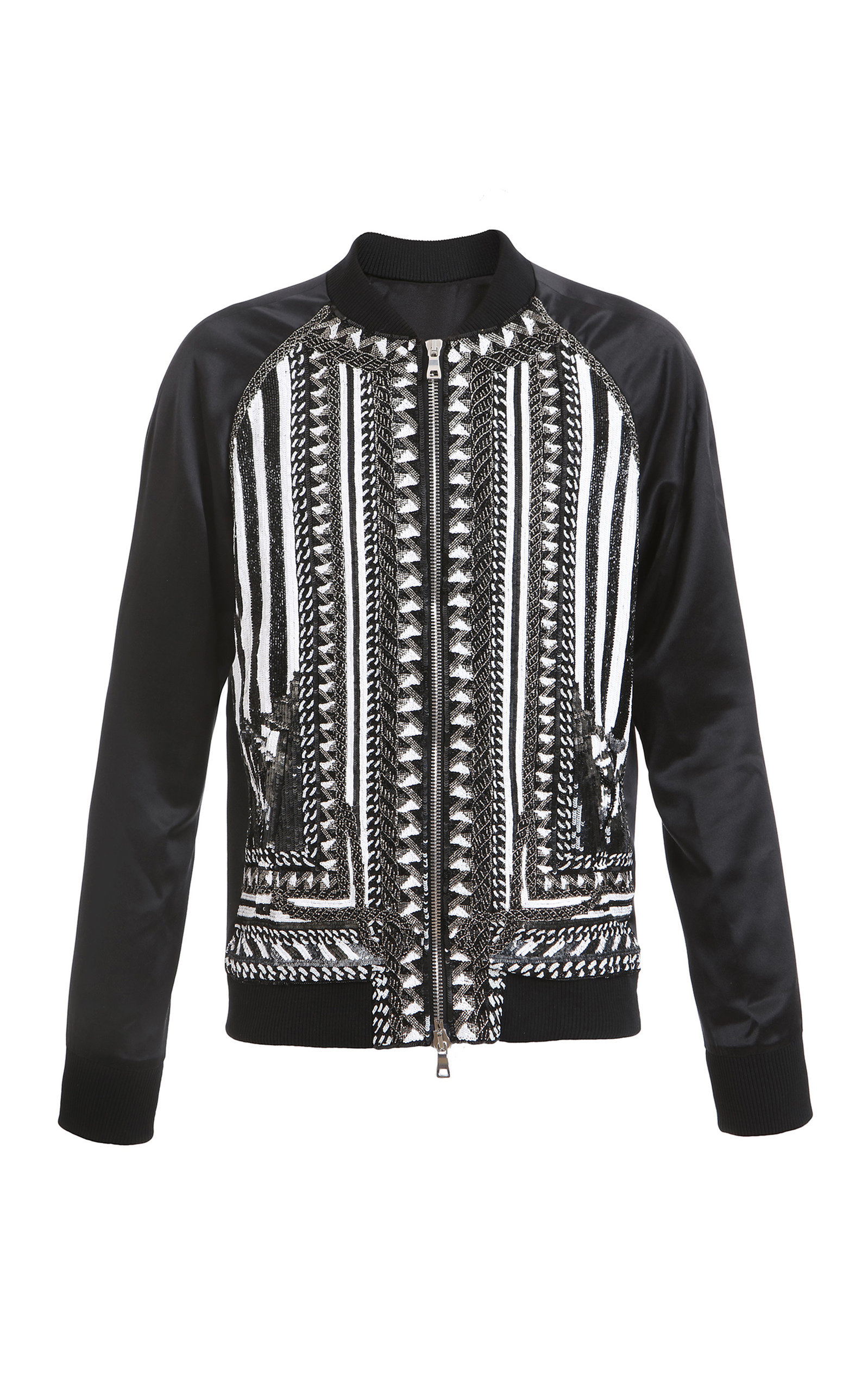 472d01d12 Embroidered Bomber Jacket