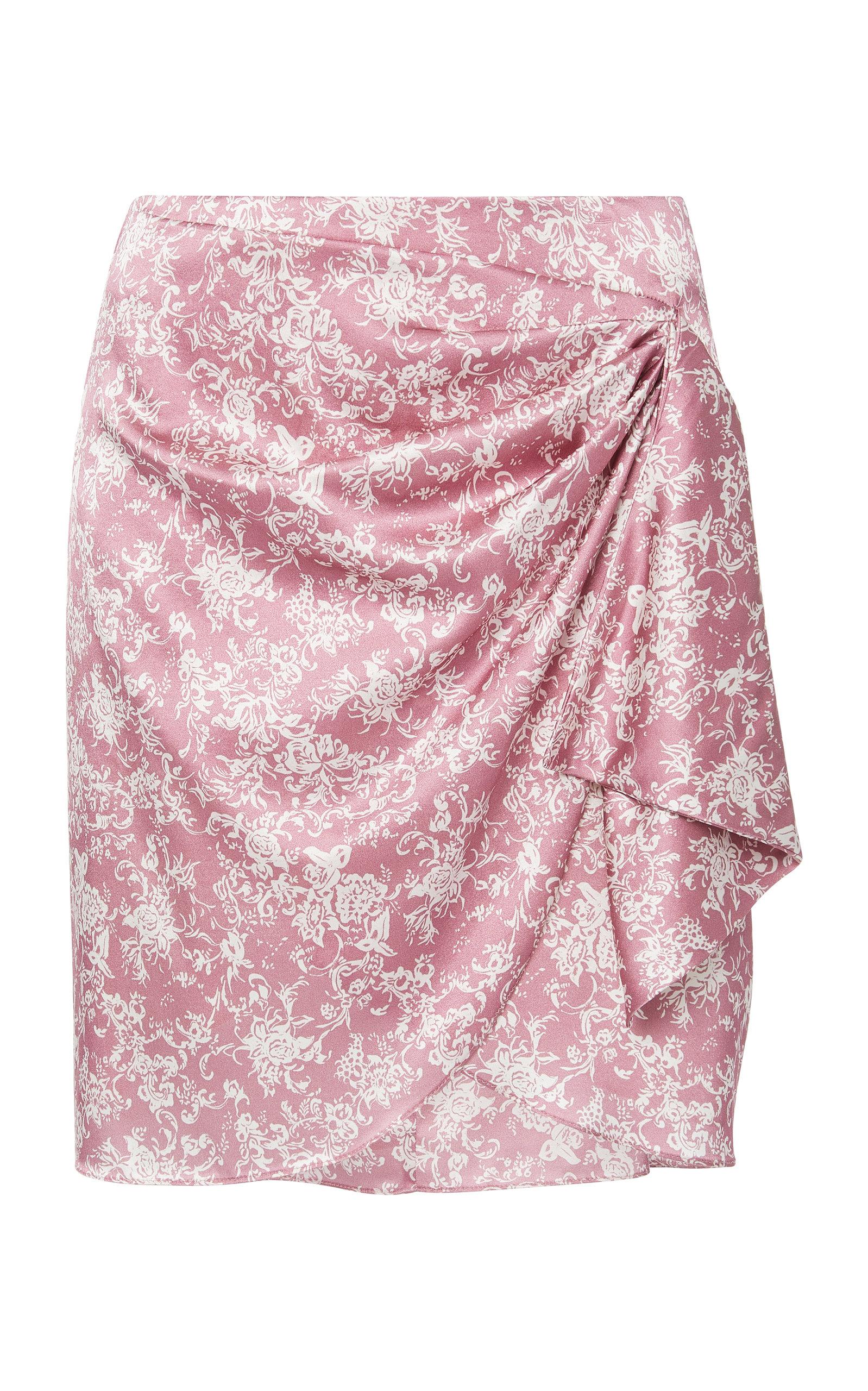 907438e86 Koren Wrap Mini Skirt by Caroline Constas   Moda Operandi