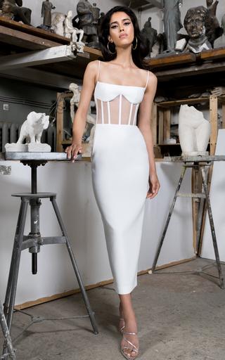 5da2998b15672 Mikado Bustier Tulle Ball Gown by Carolina Herrera | Moda Operandi