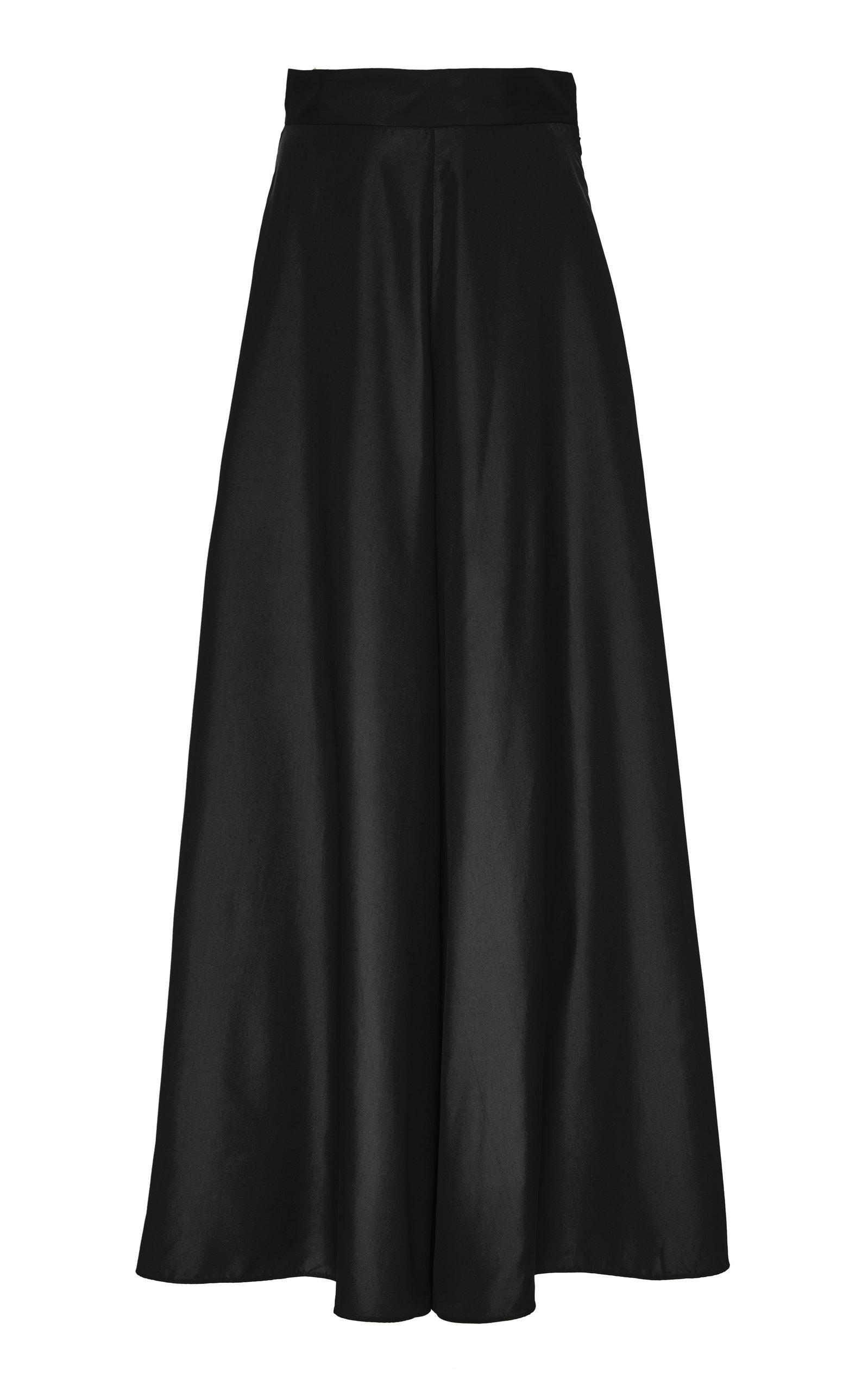 Deitas Pants Rita Cotton Blend Wide-Leg Trousers