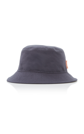 Acne Studios BRUN COTTON CANVAS BUCKET HAT