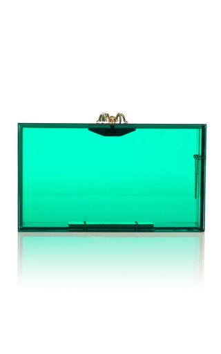 Medium charlotte olympia green pandora clutch 5
