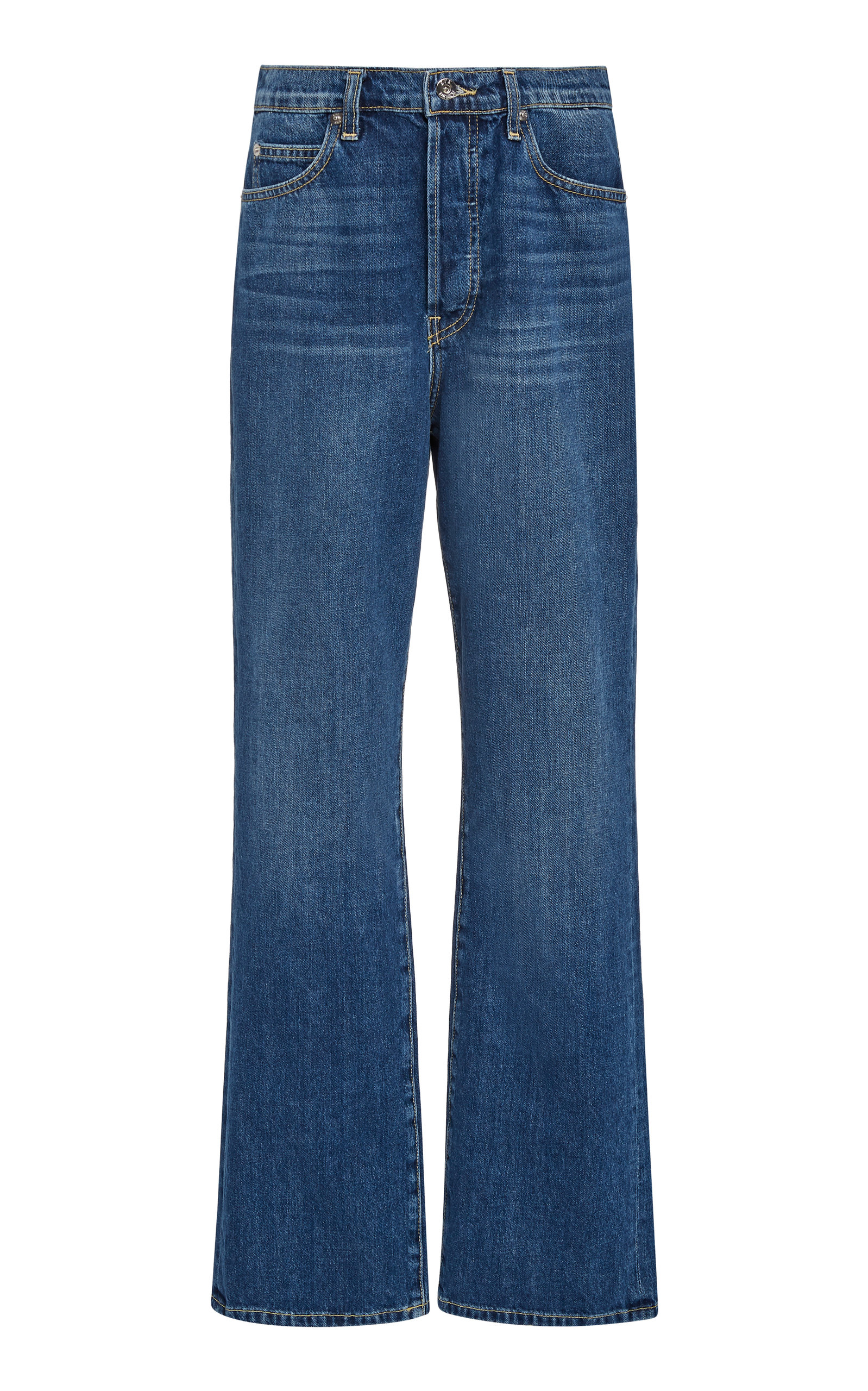 Eve Denim JULIETTE RIGID MID-RISE WIDE-LEG JEANS