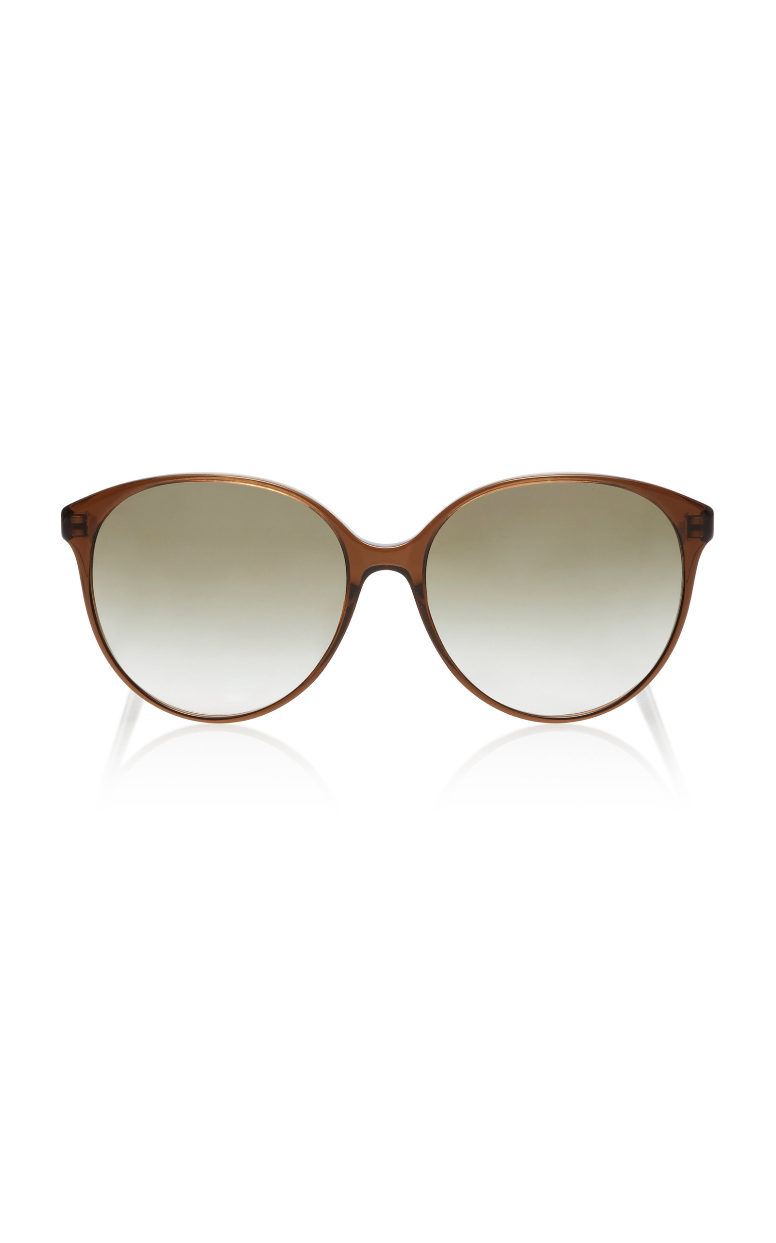 Oliver Peoples  BROOK TREE OVERSIZED ACETATE SUNGLASSES
