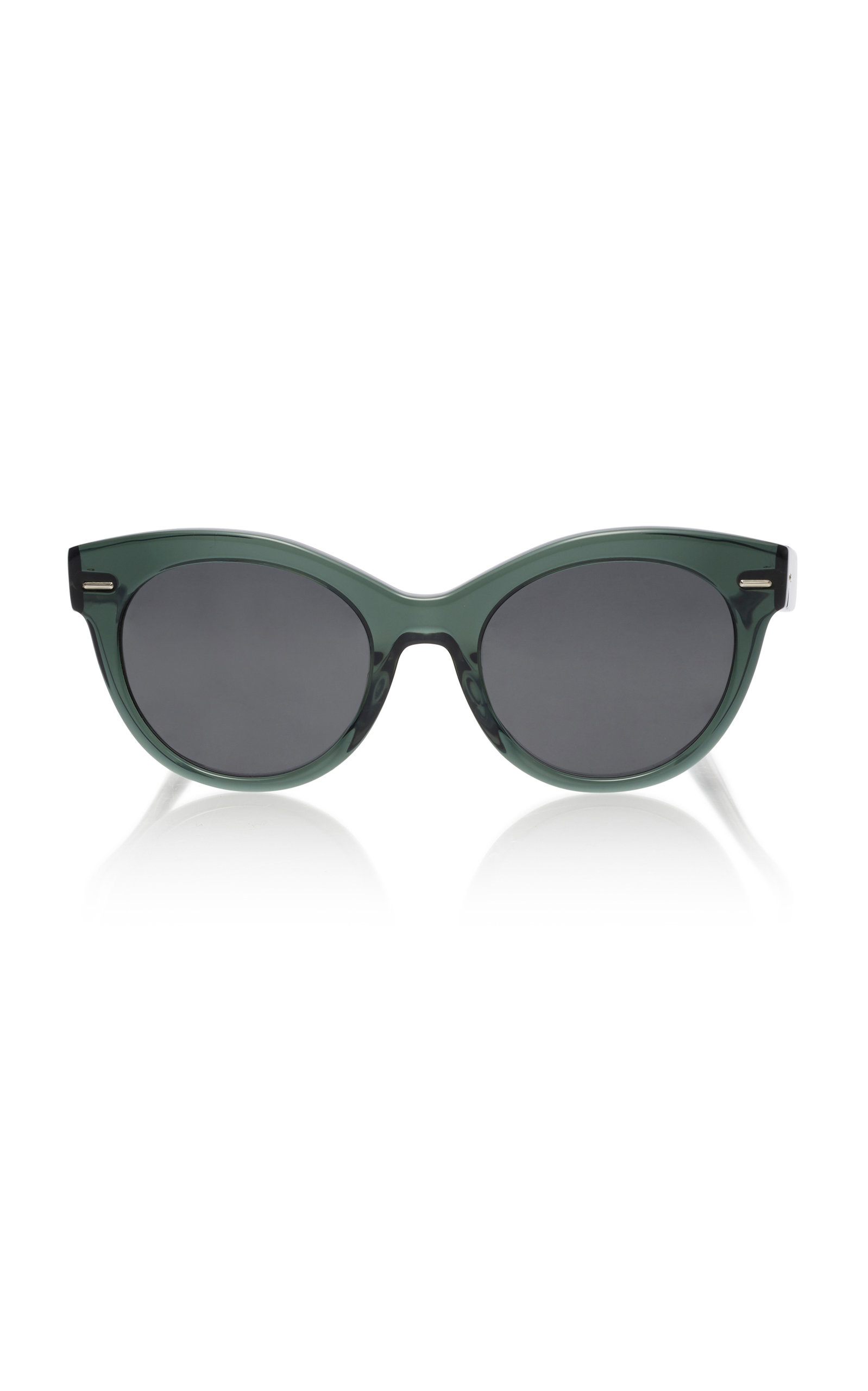 Oliver Peoples  GEORGICA OVERSIZED CAT-EYE SUNGLASSES