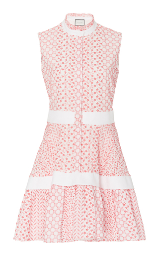 Alexis SURIYA BRODERIE ANGLAISE MINI DRESS