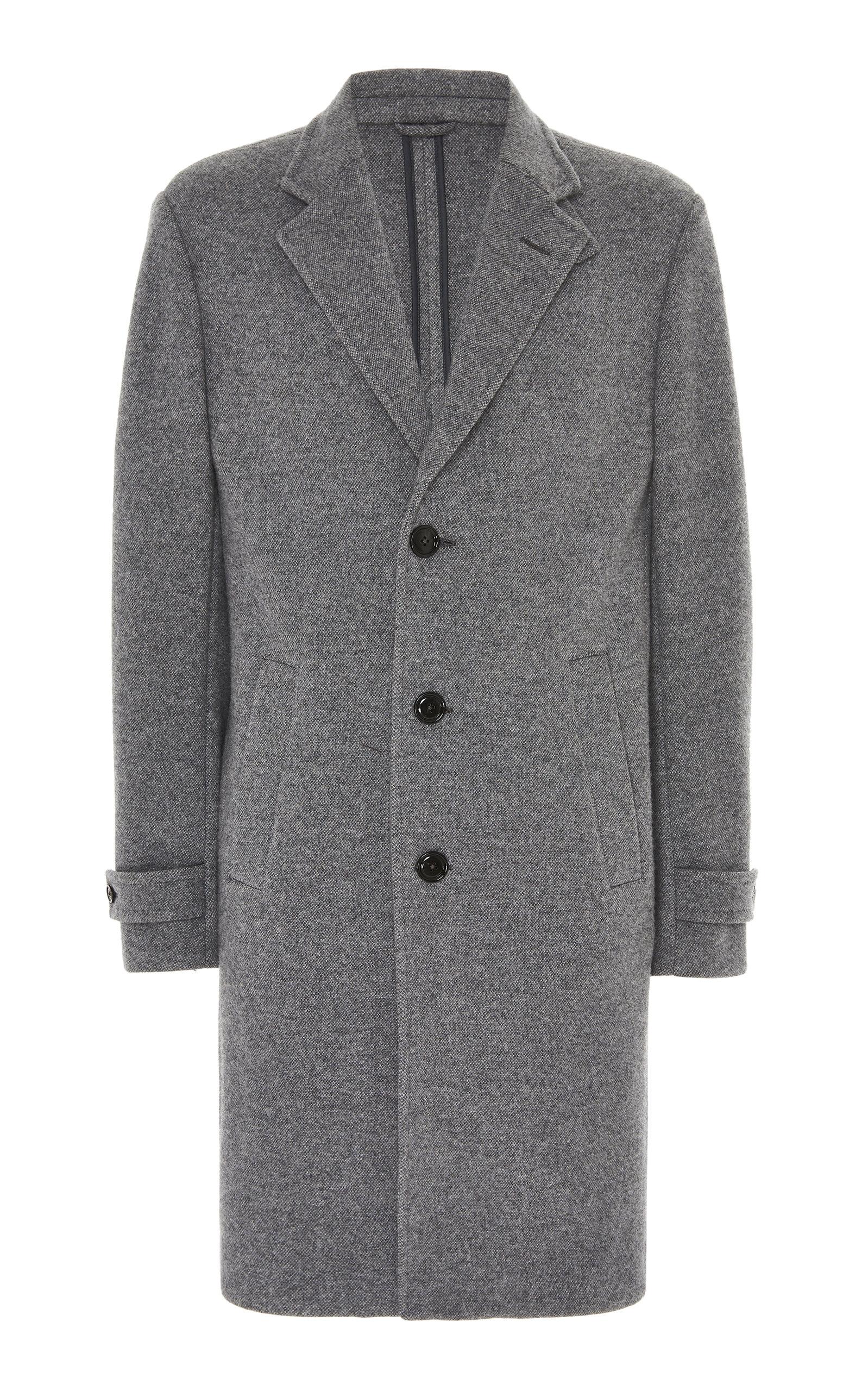 Ermenegildo Zegna Coats Cashmere-Blend Coat