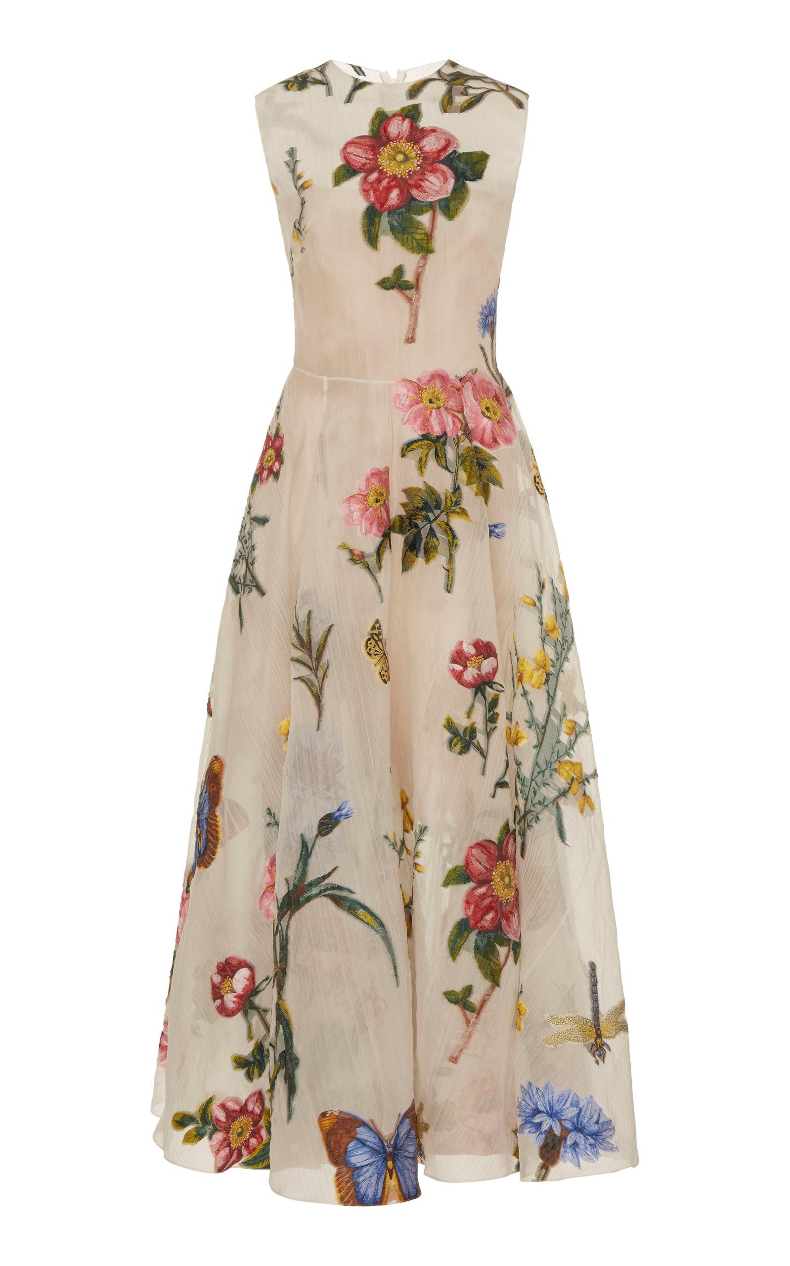 Oscar De La Renta Dresses EMBELLISHED FIL COUPÉ DRESS