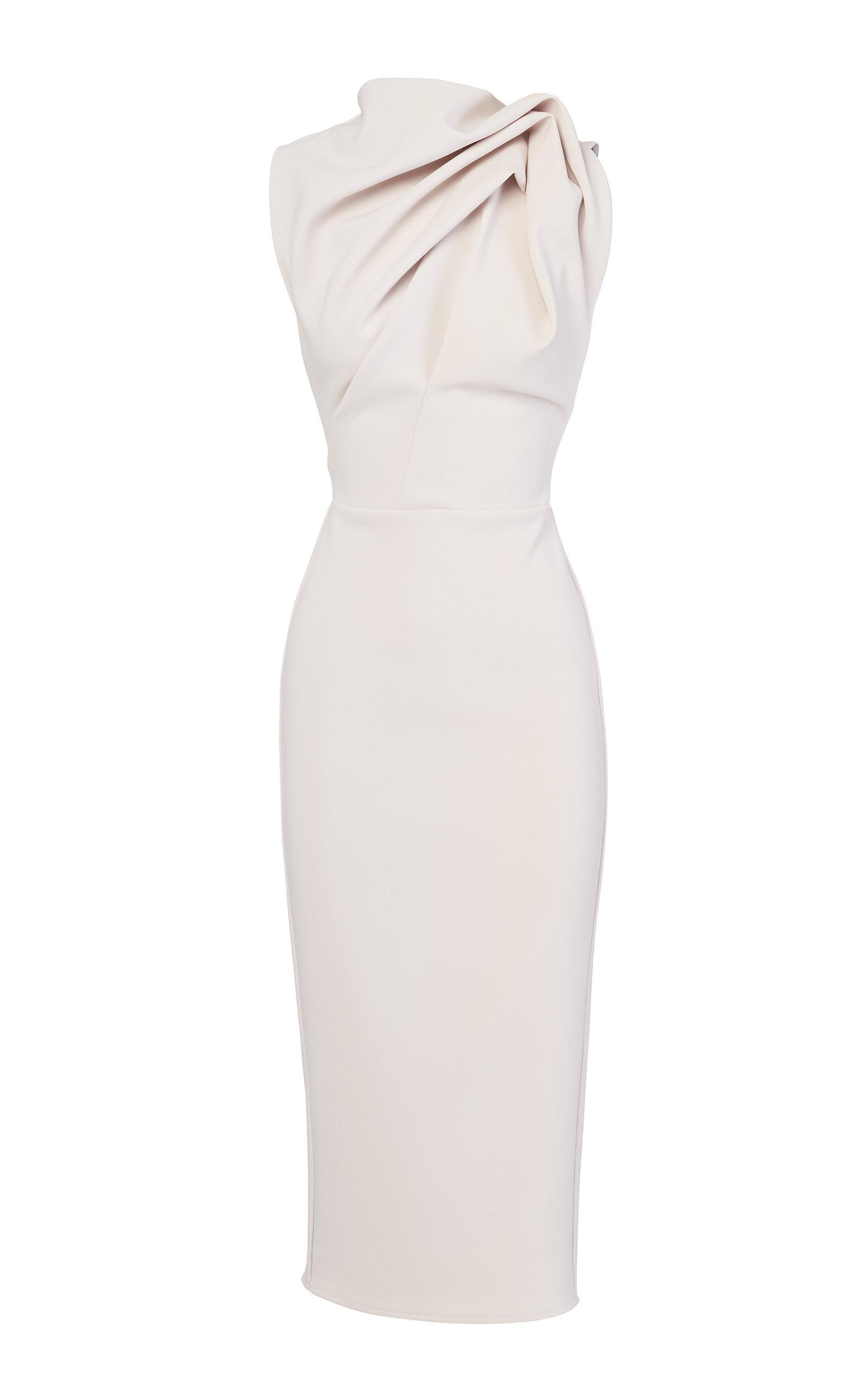 encouraged-crepe-de-chine-dress by maticevski