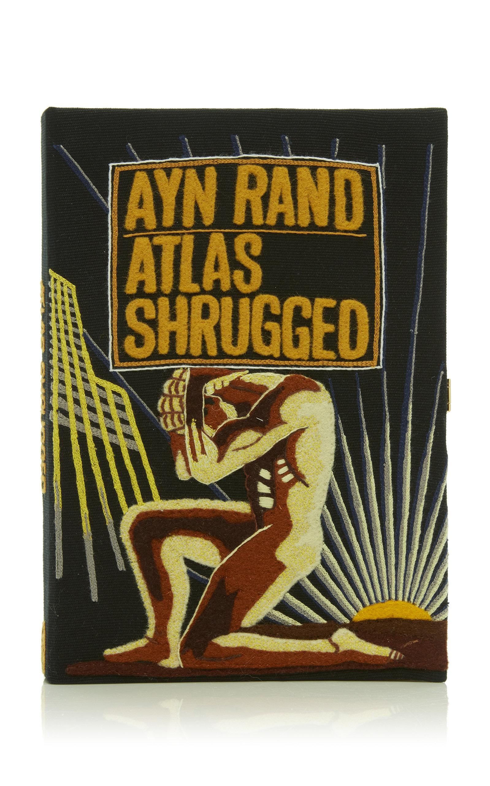 Atlas Shrugged Book Clutch
