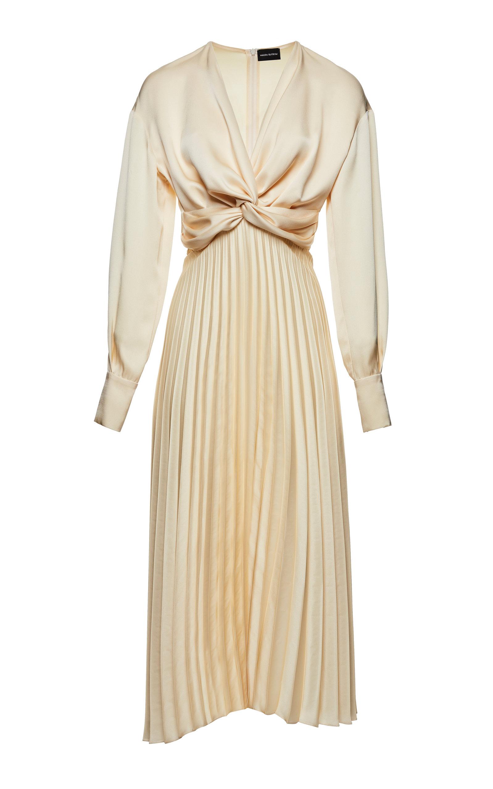 Magda Butrym Dresses MILANO PLEATED SILK DRESS
