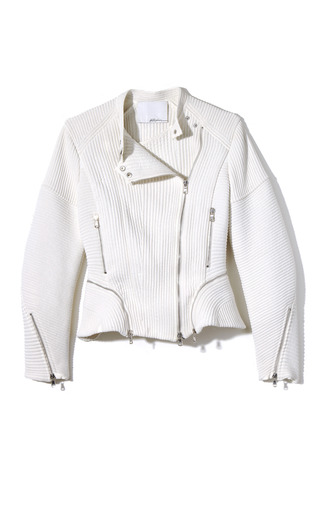 Corded Motorcycle Jacket by 3.1 PHILLIP LIM for Preorder on Moda Operandi