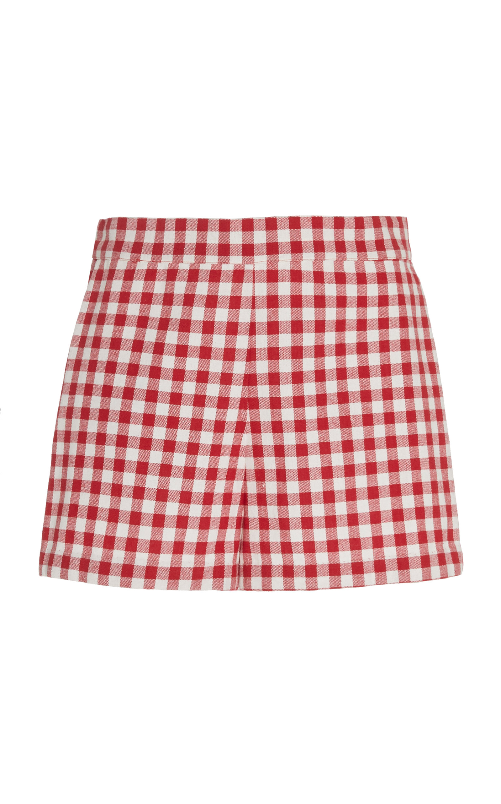 Cherry Picking Cotton Gingham Shorts by Alix Of Bohemia