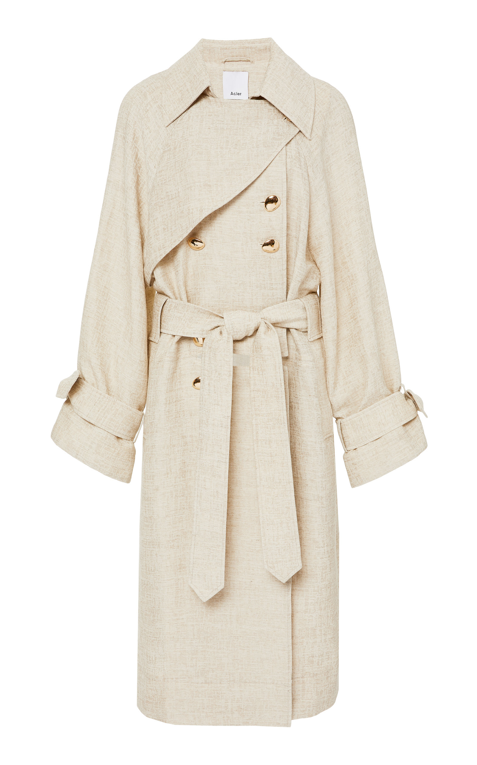 Acler REECE DETACHABLE TRENCH COAT