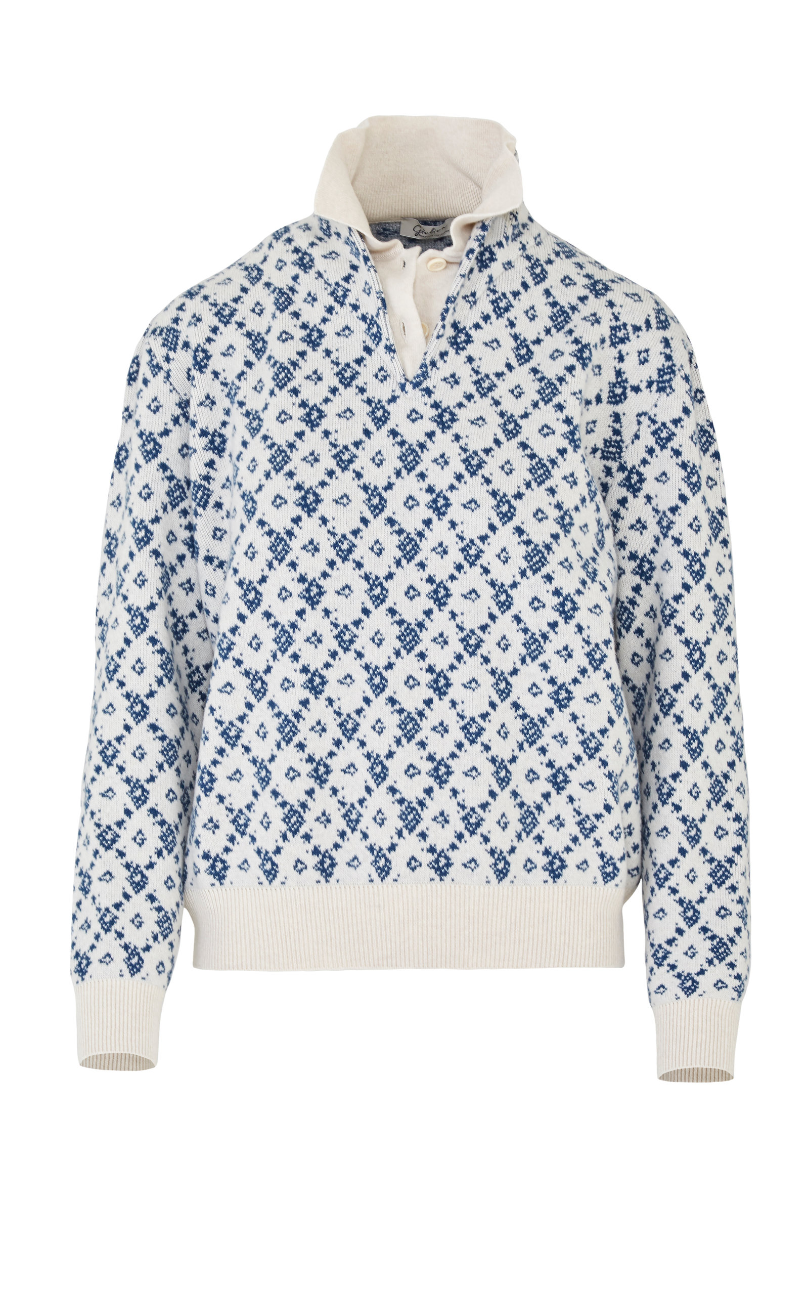 Giuliva Heritage THE ASTRID WOOL-CASHMERE SWEATER