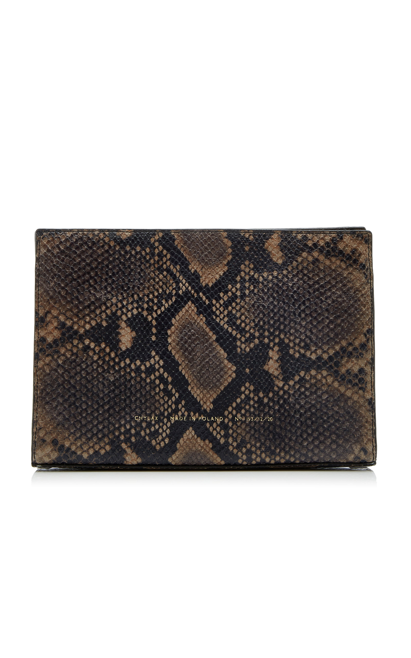 Chylak Mini Python-effect Leather Tote Bag In Animal