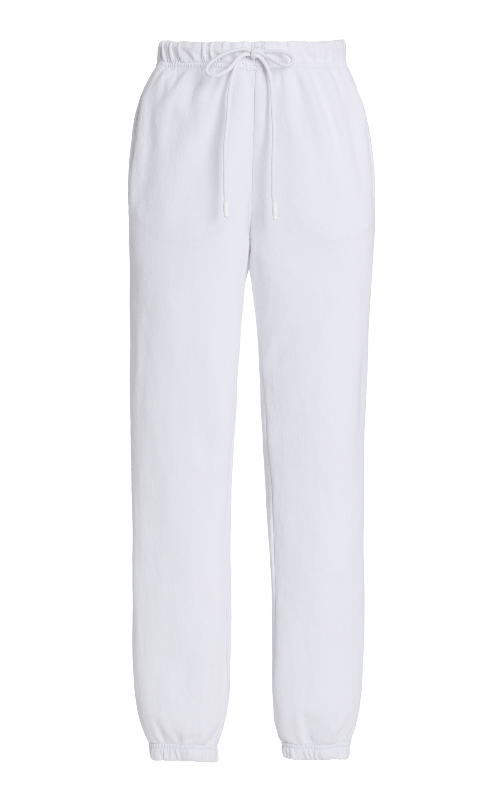 Cotton Citizen Women's The Milan Cotton Sweatpants In Pearl