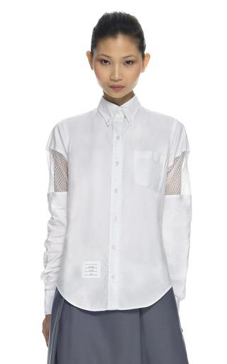 Medium thom browne white classic shirt