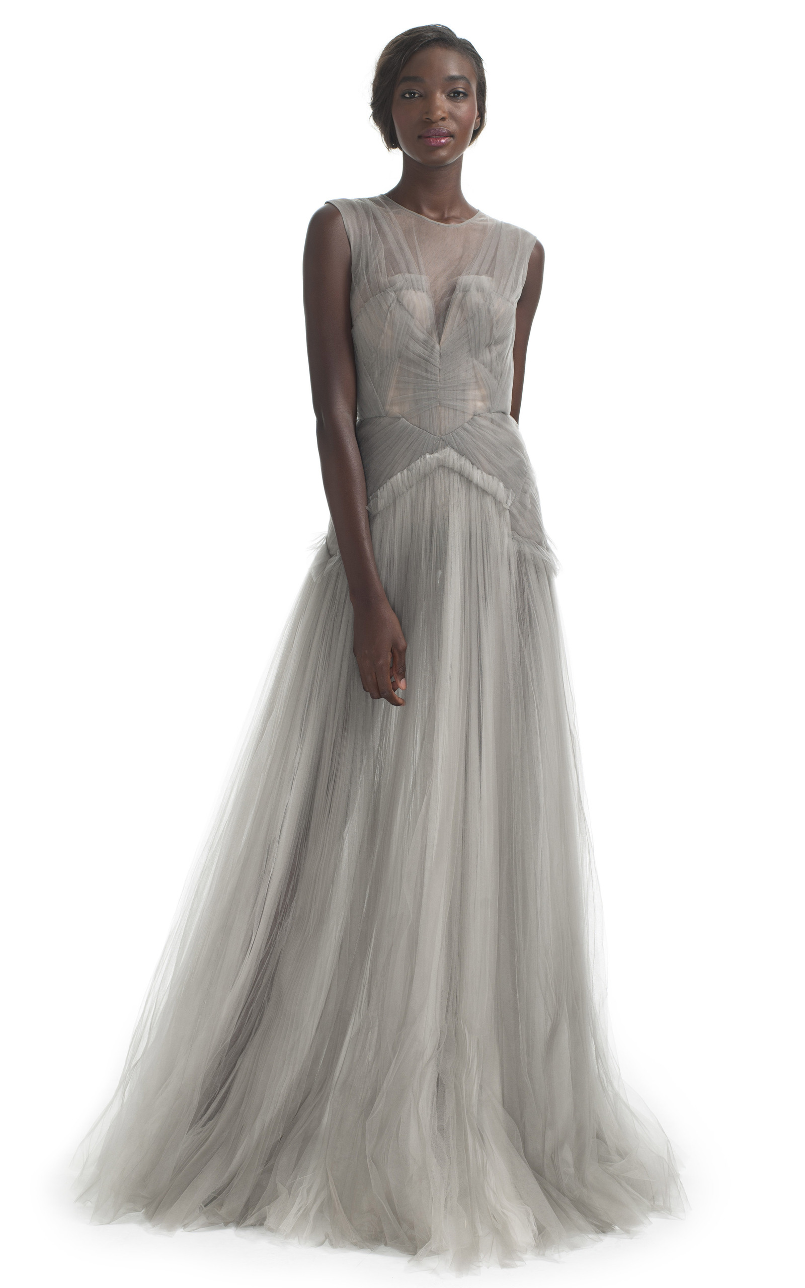 Hand Pleated Evening Gown by J. Mendel | Moda Operandi