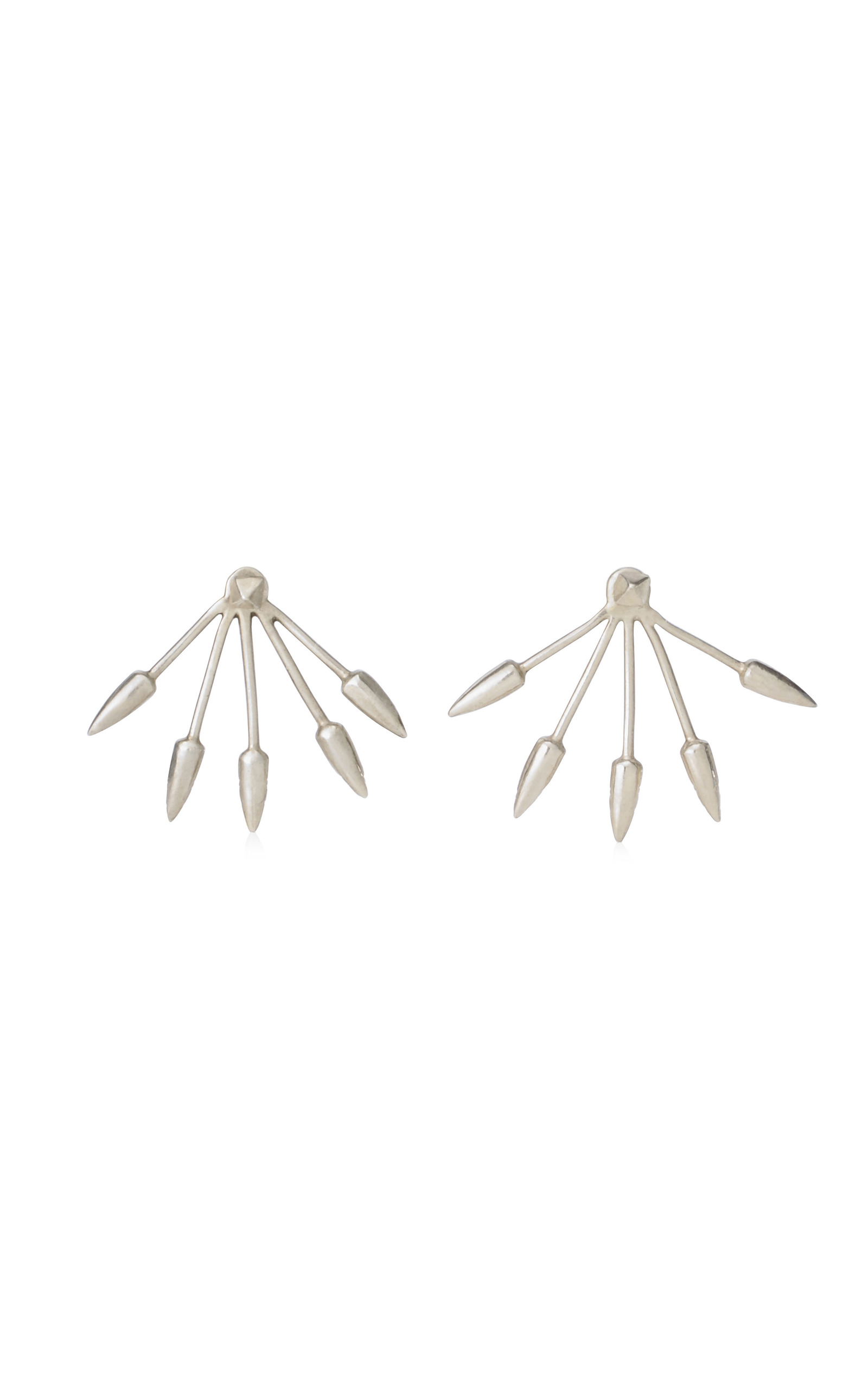five spike stud earrings by moda operandi