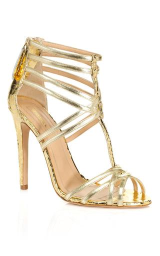 Medium aquazzura gold principessa sandal