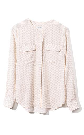 Medium equipment pink lynn blouse