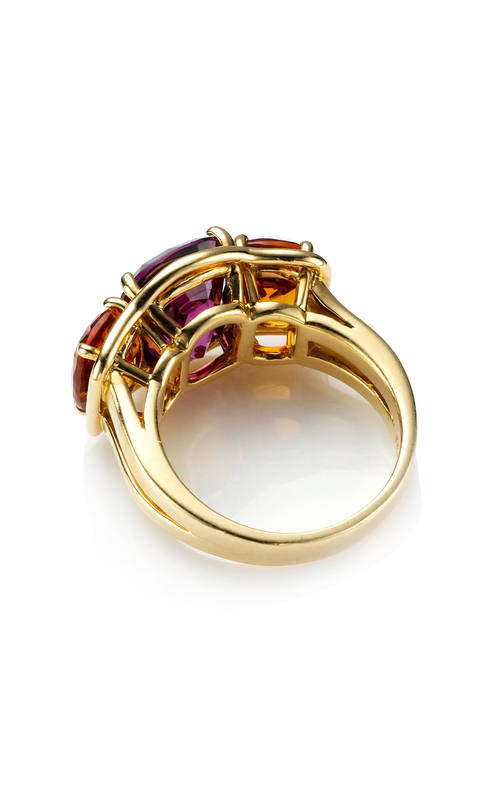 Verdura Three Stone Rings