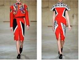 Peter Pilotto Fall/Winter 2013 on Moda Operandi