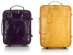 Get Away: Nancy Gonzalez Custom Travel Bags M'O Exclusive 2011 on ModaOperandi