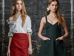 Rosie Assoulin Fall/Winter 2015 on ModaOperandi