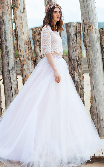 Costarellos Bridal Spring Summer 2016 on ModaOperandi