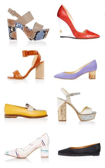 The Footwear Trend Report Spring Summer 2016 on ModaOperandi