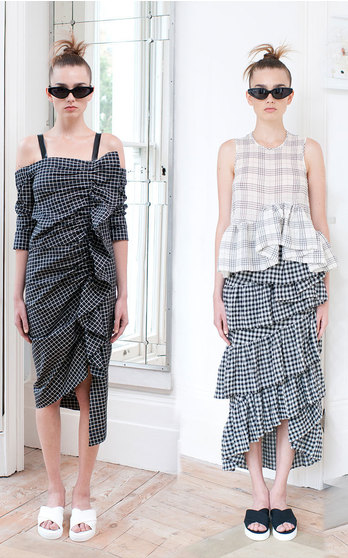 Isa Arfen Spring Summer 2016 on ModaOperandi