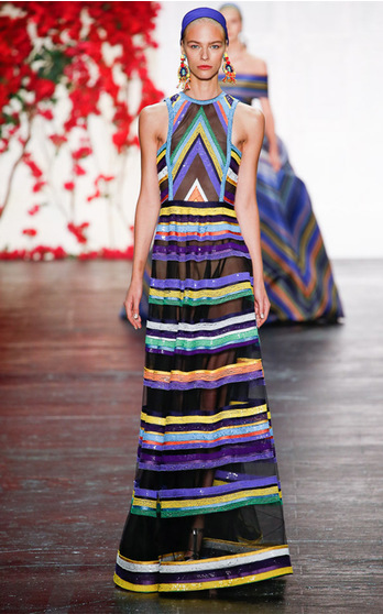 Naeem Khan Spring Summer 2016 on ModaOperandi