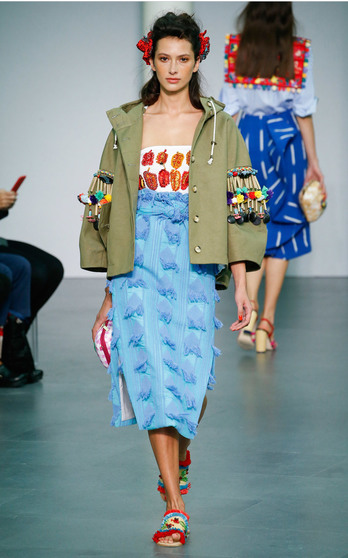 Stella Jean Spring Summer 2016 on Moda Operandi