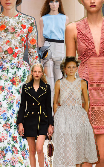 Best of London Fashion Week Spring Summer 2016 on ModaOperandi