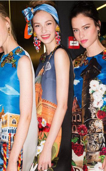 Dolce & Gabbana Spring Summer 2016 on Moda Operandi