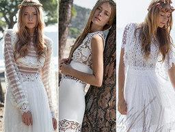 Costarellos Bridal Fall/Winter 2016 on Moda Operandi