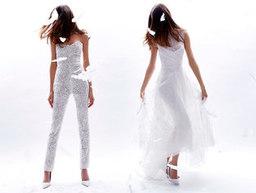 Monique Lhuillier Bridal Fall/Winter 2016 on Moda Operandi