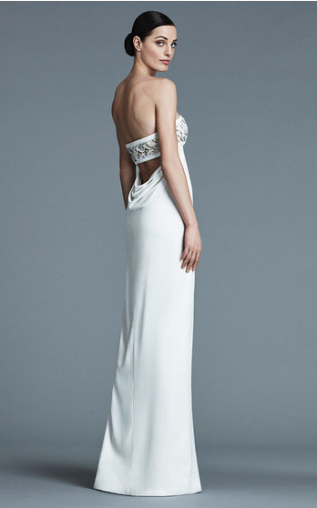 J. Mendel Bridal Fall/Winter 2016 on Moda Operandi