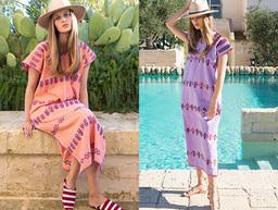 Pippa Holt Kaftans Spring Summer 2016 on Moda Operandi