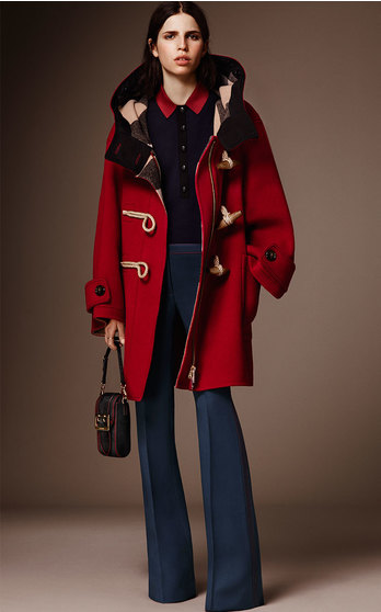 Burberry Pre Fall 2016 on Moda Operandi