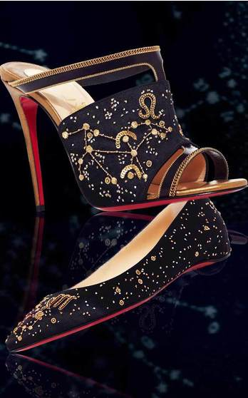 Christian Louboutin: The Zodiac Collection Pre Fall 2016 on Moda Operandi