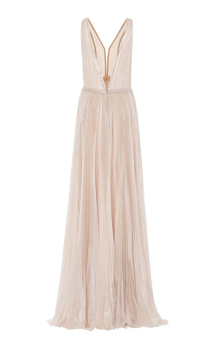 Kaia Silk Chiffon Gown