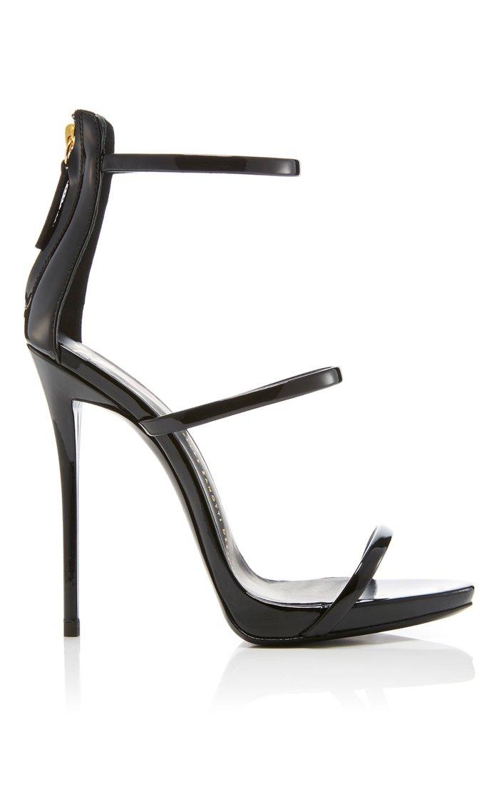 Coline Patent Leather Sandals