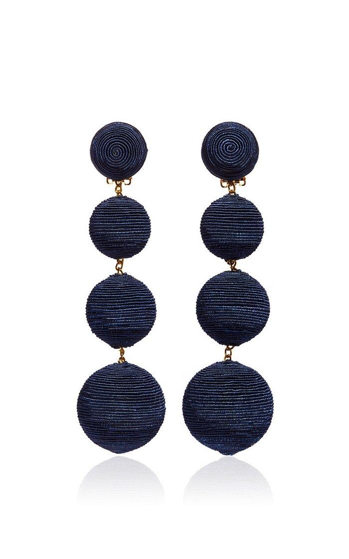 Blue Classic Earrings
