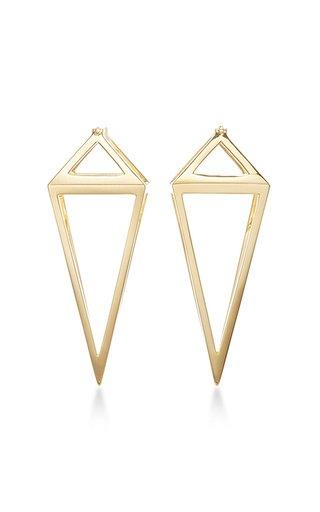 Pendulum 3D Earrings