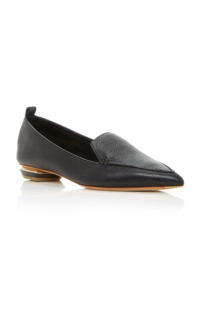 Beya Leather Loafers